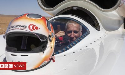 Positive news Bloodhound diary: Getting the job done at over 600mph