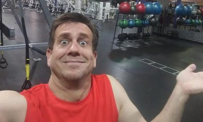 Funny  funny news A man got locked inside a 24 Hour Fitness and his confused selfies are going viral: 'Doesn't the name suggest they stay open 24 hours?'