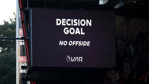 Positive people Premier League has to try and make VAR better, says chief executive Richard Masters