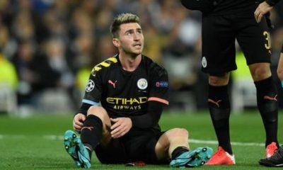 Positive people Aymeric Laporte: Defender expected to be out for 'up to a month' with hamstring injury